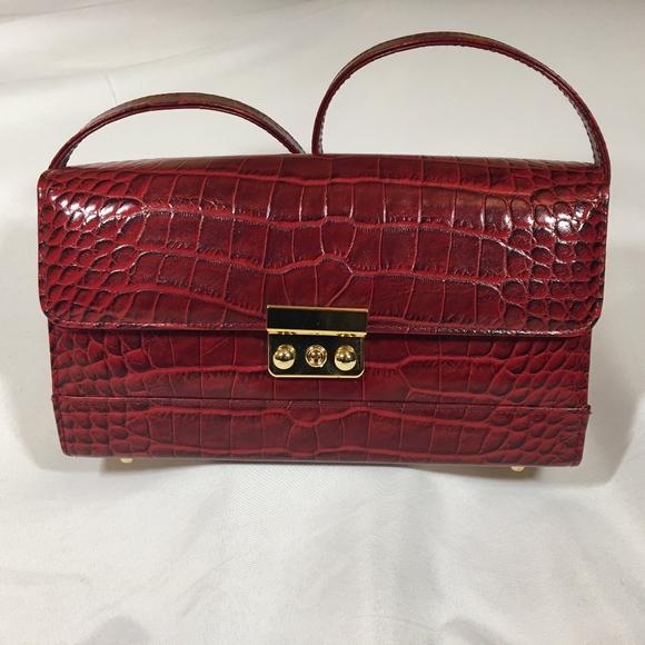 Francesco Rogani Handbags - Francesco Rogani Red Leather Purse